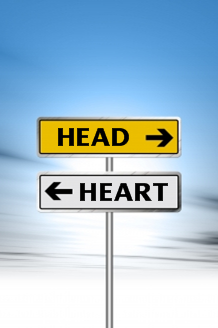 Head vs. Heart sign