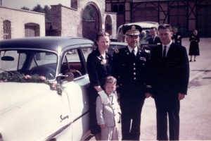 Danny, Grandpa, and Onkel Walter with my uncle  Bill